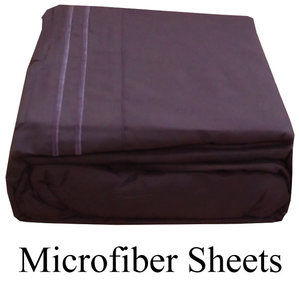 Purple Microfiber Sheets Twin Size Deep Pocket