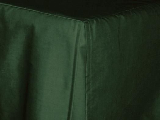 3 4 Three Quarter Dark Forest Green Tailored Dustruffle