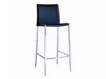 Jenson Black Leather Bar Stool Restaurant Furniture