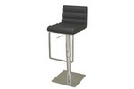 Sandie Black Leather Barstool Restaurant Furniture