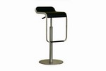 Black Adjustable Bar Stool Restaurant Furniture