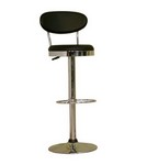 Achilla Black Adjustable Barstool Restaurant Furniture