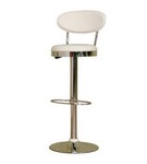 Achilla White Adjustable Barstool Restaurant Furniture
