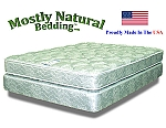 Three Quarter Size Abe Feller® Mattress Set GOOD