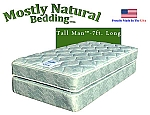 Tall Man™ Twin Size Abe Feller® Mattress Set GOOD