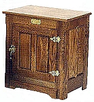 Oak Chest / Night Stand / End Table