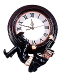 Time To Hang On Clock