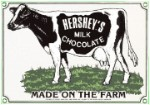 Hershey's Chocolate Milk Metal Sign