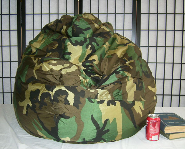 Enjoyable Camo Bean Bag Chair Ibusinesslaw Wood Chair Design Ideas Ibusinesslaworg