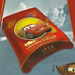 Lightning Mcqueen Cars Plush Acrylic Blanket