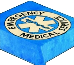 Emergency Medical Service Plush Mink Blanket