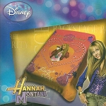 Hannah Montana Secret Star Acrylic Plush Acrylic Blanket