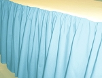 Baby Blue Dustruffle Bedskirt Full/Double Size