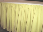Pale Yellow Dustruffle Bedskirt Full/Double Size