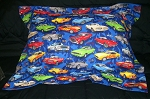 Muscle Car Bedding Full Size Pillow Sham with Flange