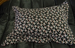 Skull Bedding Full Size Pillow Sham with Flange