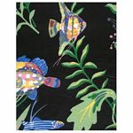 Black Fish Tropical Bedding and Beach Bedding