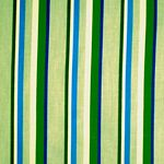 Green Stripe Tropical Bedding and Beach Bedding