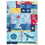 Nautical Times Tropical Bedding and Beach Bedding