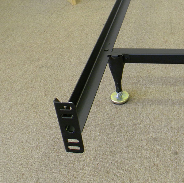 Expanded Queen Bed Frame For Bolt On Headboard And Footboard