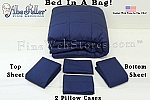 Navy Bed In A Bag Twin Size