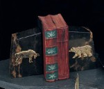 Solid Marble Bull and Bear Bookends - Set of Two