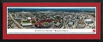 University Of Nebraska Cornhuskers Stadium Deluxe Framed Picture