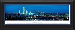 Albany New York Deluxe Framed Skyline Picture