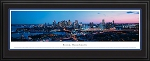 Boston, Massachusetts Deluxe Framed Skyline Picture 4