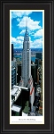 New York, New York Chrysler Building (Daytime) Deluxe Framed Skyline Picture