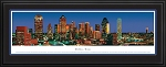 Dallas, Texas Deluxe Framed Skyline Picture 1a
