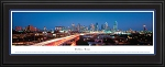 Dallas, Texas Deluxe Framed Skyline Picture 1b
