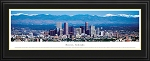 Denver, Colorado Deluxe Framed Skyline Picture 3