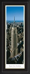 New York, New York Empire State Building Deluxe Framed Skyline Picture