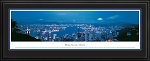 Hong Kong, China Deluxe Framed Skyline Picture
