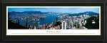 Hong Kong, China Deluxe Framed Skyline Picture 2