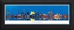 Liverpool, England Deluxe Framed Skyline Picture 2