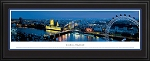 London, England Deluxe Framed Skyline Picture 1b