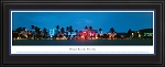 Miami Beach, Florida Deluxe Framed Skyline Picture