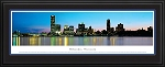 Milwaukee, Wisconsin Deluxe Framed Skyline Picture