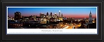 Philadelphia, Pennsylvania Deluxe Framed Skyline Picture 5
