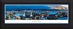 Portland, Oregon Deluxe Framed Skyline Picture