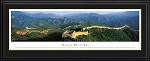 Great Wall Of China Deluxe Framed Skyline Picture