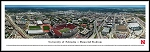 University Of Nebraska Cornhuskers Framed Stadium Picture