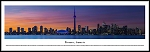 Toronto, Canada Framed Skyline Picture 3