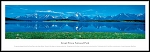 Grand Teton National Park Framed Skyline Picture