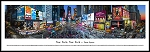 New York, New York Times Square Framed Skyline Picture 3