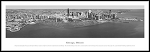 Chicago, Illinois Black And White Framed Skyline Picture 8