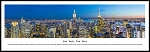 New York, New York Framed Skyline Picture 18