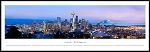 Seattle, Washington Framed Skyline Picture 2